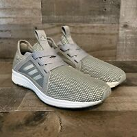 Adidas Womens Edge Lux Running Shoes Gray BB8209 2016 Low Top Mesh Lace Up 7 M