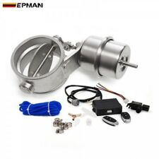 "EPMAN Exhaust Control Valve Set W/ Vacuum Actuator Cutout 3.5"" 89mm Close Style"