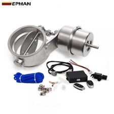 "EPMAN Exhaust Control Valve Set W/ Vacuum Actuator Cutout 3"" 76mm Close"