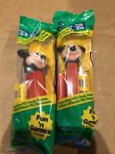 PEZ: mickey Mouse, green pack, Red stick, Brand New & Sealed