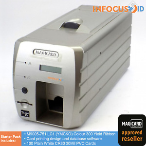 Magicard Tango 2e Dual Sided ID Card / Badge Printer With Starter Pack