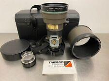 Tamron SP 300mm f/2.8 LD IF MF Lens 60B w/SP 1.4X tele-Converter 140F Nikon Used