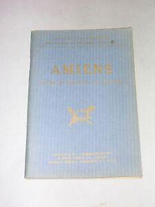 michelin Guide illustré champs de bataille Amiens avant pendant la guerre 1919