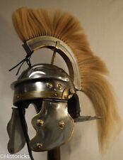 ROMAN GALLIC HELMET - CENTURION WITH HORSE HAIR CREST FREE HELMET STAND