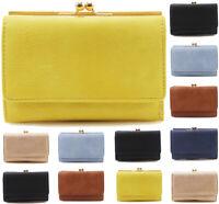 Fashion Womens Short Purse Clutch Wallet Clutch Bag Coin, Card, Photo Holder Tra