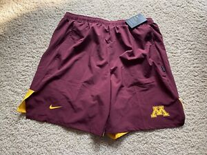 Nike On Field Minnesota Golden Gophers Shorts AR7064-669 Size XXL