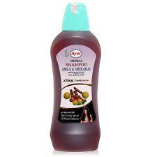 Ayur Herbal Shampoo Amla Shikaki Reetha For Normal Hair Xtra Conditioner 400ml