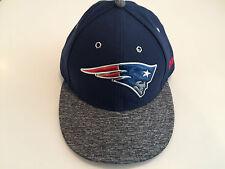 Hat New England Patriots New Era Gray 2016 NFL Draft Low Profile 59Fifty 7 1/4
