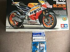 1/12 Tamiya Honda Repsol RC213V '14 Moto GP 2014 CHAMPION, upgrade parts.