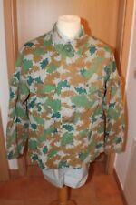 Original East German Army Military Camouflage Jacket Blumentarn Flächentarn 1968