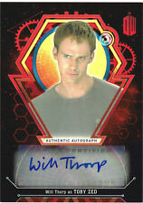 Doctor Who Extra Terrestrial Autograph Will Thorp as Toby Zed Red Parallel 2/5