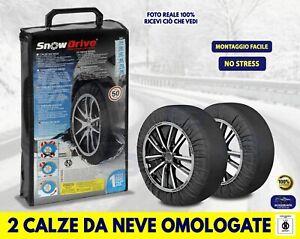 Catene da neve omologato Fiat 500 L ruote Pneumatici cerchi misure kit auto in