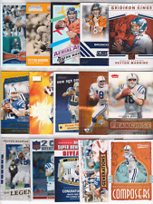 PEYTON MANNING 30 Card 19 Insert 1 Prizm 1 Sweepstakes Lot COLTS BRONCOS Legend