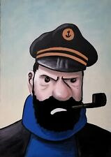 Tableau, Peinture, bande dessinée, Tintin