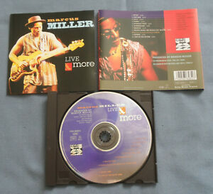 CD von  Marcus Miller – Live & More