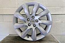 "1 x Genuine Original Jaguar XF 17"" Turbine alloy wheel silver spare 7.5J ET45"