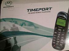 Motorola mt 2 OVP time Puerto l series tri-Band d1/d2/o2 sim Super aceptar Gebr Art 59 P