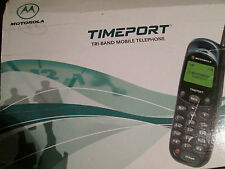 Motorola MT 2 OVP Time Port L Series Tri-Band d1/d2/o2 SIM Super OK Gebr Art 59 P