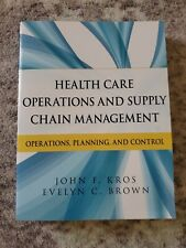 Health Care Operations and Supply Chain Management: Operations, Planning, and Co