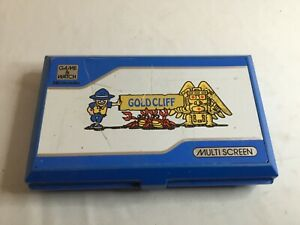 #yd# Nintendo Game and Watch Gold Cliff 1988 - Fonctionne parfaitement