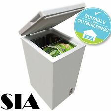 SIA CFR60WH Chest Freezer In White | 67 Litres Capacity | A+ Energy Rating,,