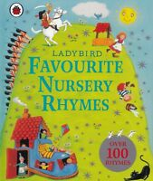Ladybird Favourite Nursery Rhymes NEW Hardback Book with 100+ Rhymes
