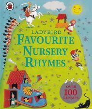 Ladybird Favourite Nursery Rhymes NEW Hardback Book with 100+ Rhymes
