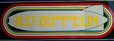 "☆Buy 1---->3"" x 9"" Bold Led Zeppelin Bumper Sticker-One Low Price!!☆"