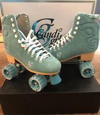 New Candi Grl Carlin Seafoam Rollerskates Size 9