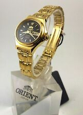 Reloj Orient   Gold  Tone Automatic Watch  Lady FNQ1S002B  W/ ORIENT BOX