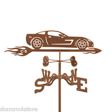 Chevy Corvette C5 Weathervane - Chevrolet Car - 'Vette Vane with Choice of Mount