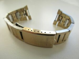 Waltham Champion 1/40 10 kt gold overlay trim bracelet 11-25 mm