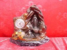 bella,moltissimo vecchio Orologio figura__con Lampada und carillon__madonna von