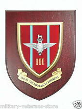 3RD BTN PARACHUTE REGIMENT MESS PLAQUE