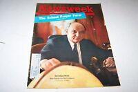 JULY 9 1962 NEWSWEEK magazine SECRETARY RUSK