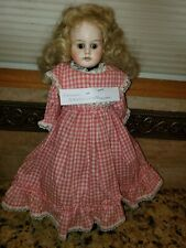 "ANTIQUE Germany 16"" Bisque Girl Character Doll SCHOENAU & HOFFMEISTER . Nice!"