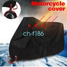 XXL Motorcycle Cover Waterproof Heavy Duty For Winter Outside Storage Snow Rain