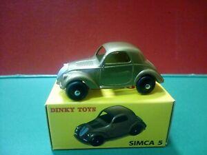 Modellino DIE CAST Dinky Toys Simca 5 35A  De Agostini 1/43 1:43