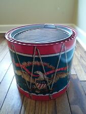 Portable Early American Drum Bbq Grill - New!