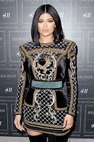 BNWT BALMAIN x H&M Black Gold Velvet Embroidered Beads Eagle Dress EUR 38 US 8