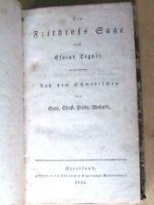 1826 Book Frithiofs-Sage, Von Esaias Tegner, Bischof Wexio , Norse Mythology