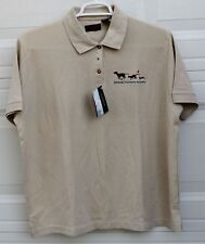 Animal Humane Society Shirt Shelter Worker Volunteer Uniform Knit Polo  XXL NWT
