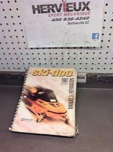 Ski-Doo Bombardier 1997 Manuel De Reparation Volume 3 Francais 6120724D