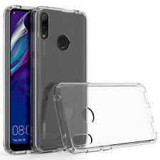 CLEAR SILICONE GEL PHONE CASE COVER & SCREEN PROTECTOR FOR VARIOUS MOBILE PHONES