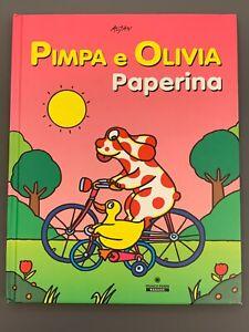 PIMPA E OLIVIA PAPERINA Libro Illustrato Altan Franco Cosimo Panini 2007 Ottimo