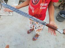 Custom Handmade Damascus steel Viking Sword W/Beautiful Leather Sheath AE-17