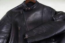 $5395 Givenchy Star Patch Lamb Leather Moto Jacket Size 52-42