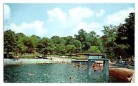 1960s/70s Swimming Pool, Infantry School, Fort Benning, GA Postcard *5F(2)21