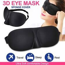 3D Eye Mask Travel Beauty Sleep Bedtime Sponge Cover Blindfold Blinder Blackout