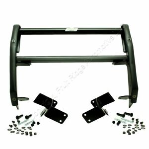 New Go Rhino Black Front Push Bumper for 2006-10 Dodge Charger Powder Coat Steel